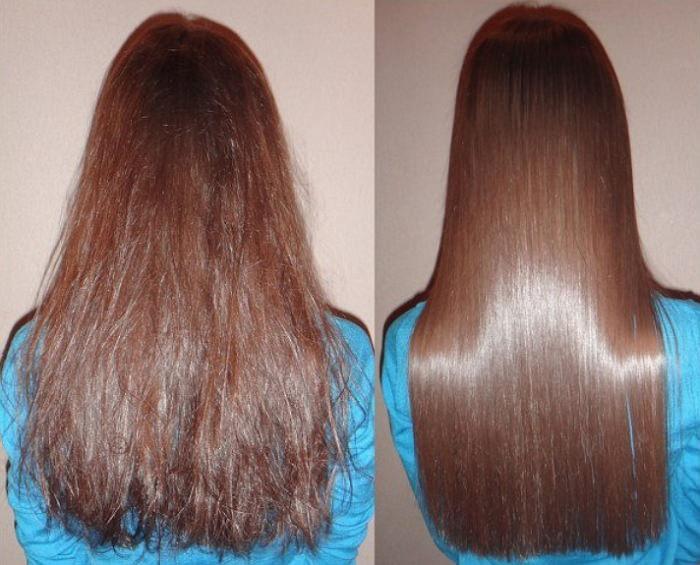 Кератиновое выпрямление волос в домашних условиях 80