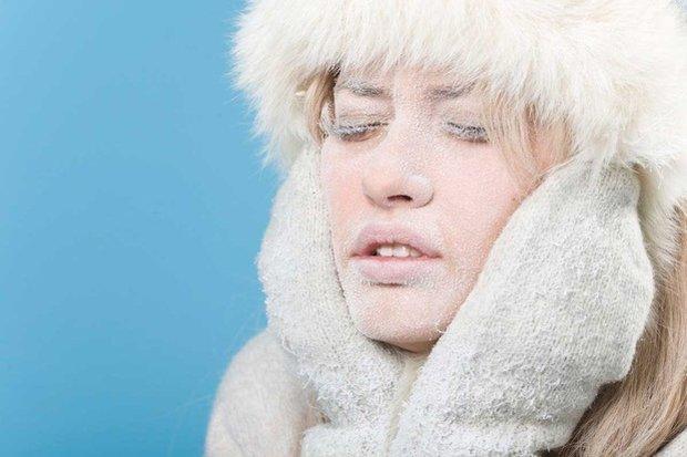 Влияние мороза на кожу лица