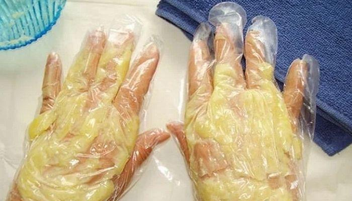 Картофельная маска для рук