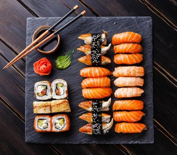Сет суши-спайс - «Иероглиф» - ресторан Японской и Китайской кухни в Барнауле